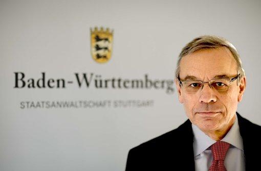 Oberstaatsanwalt Bernhard Häußler
