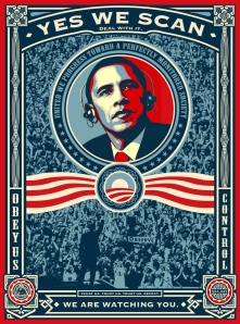 Obama - Yes we scan